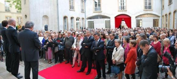 Musée des tissus lyon people 2014