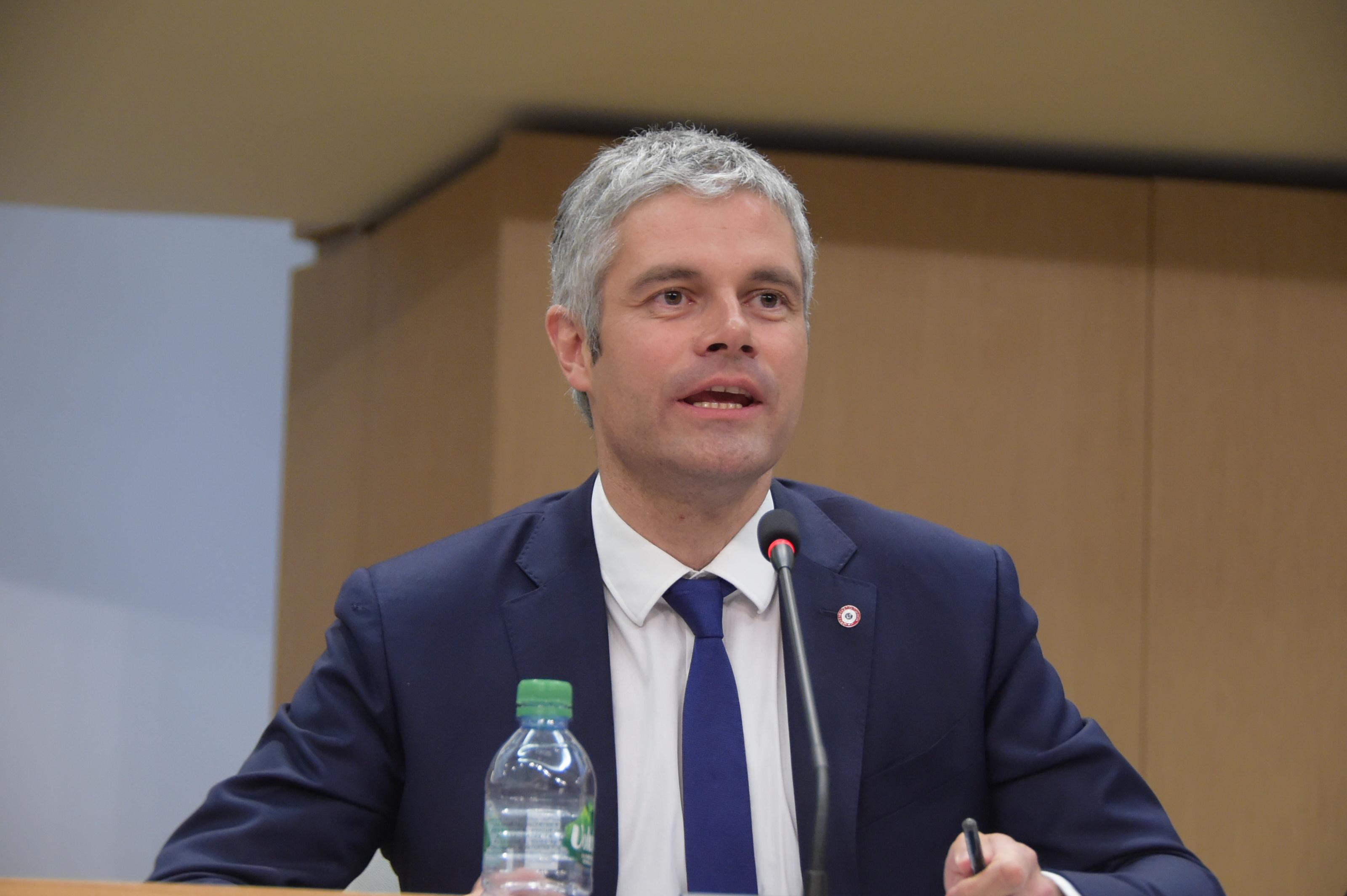 Le discours d'installation de Laurent Wauquiez