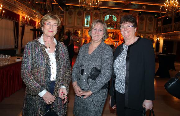 15. Marie-France Duchez, Annick Demeure et Christine Bretonnier