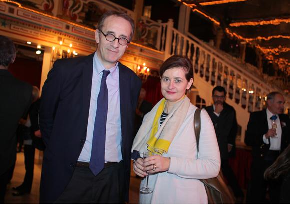 23. Maître Jean-Félix Luciani, avocat, et son épouse Dominique
