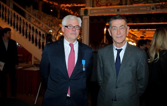 3. Philippe Meysonnier et Jean-François Arrue, anciens bâtonniers du barreau de Lyon