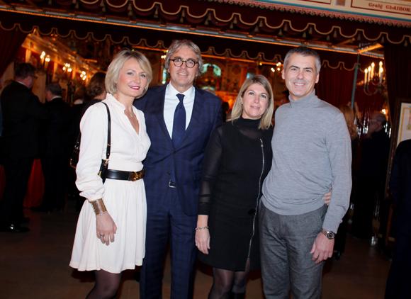 6. Jean-Pierre et Sylvie Challier (IDHD), Christelle Balland (Euler Hermes) et Alain Buconjic (carton.fr)