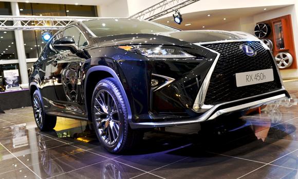1. Nouvelle Lexus RX 450h