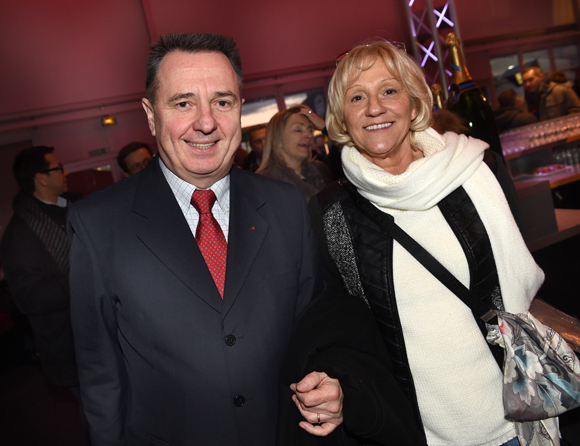 12. Le général Christian Peraldi et la photographe Evelyne Dufond