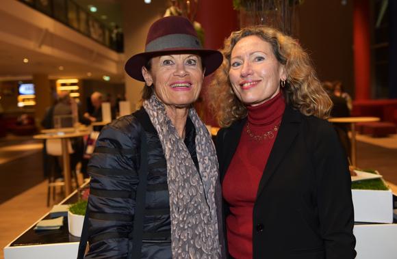 12. Ghislaine Aulas et Michèle Barrot