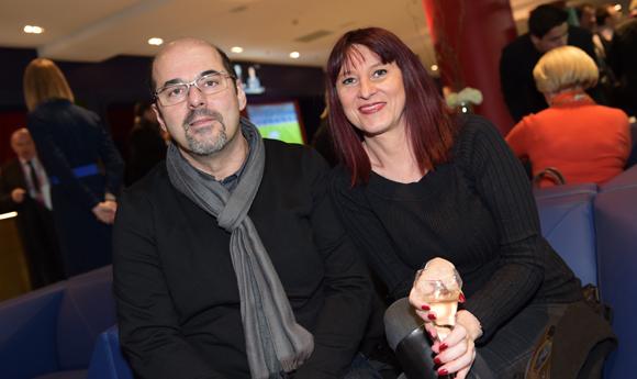 13. Yves Berenguer (Orange) et Delphine Bourdiau (Shop Coiffure)