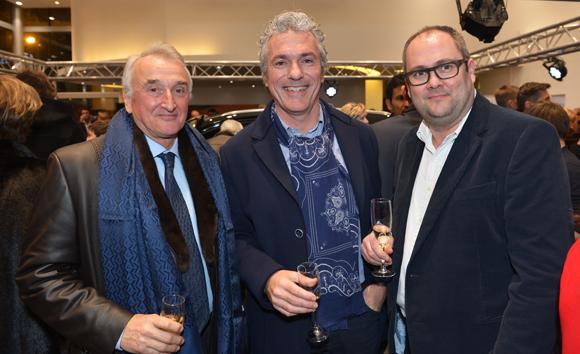 13. Pierre-Jean Vottero (Tri-Haut), Laurent Labbadi (Lamat) et Jean-Christophe Guillot (ACBG)