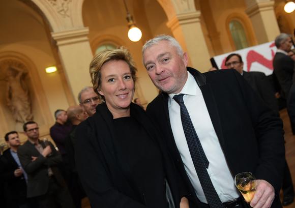 13. Olivia Cuir (Esprit & Sens) et Jean-Louis Joly, DG du Medef Lyon-Rhône