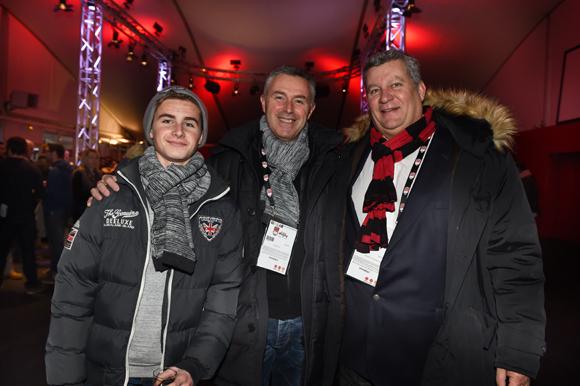 14. Stéphane Trabet (Hôtel Majestic Cannes), son fils Arthur et Christophe Gerbaud (Assurances Paris Gerbaud)