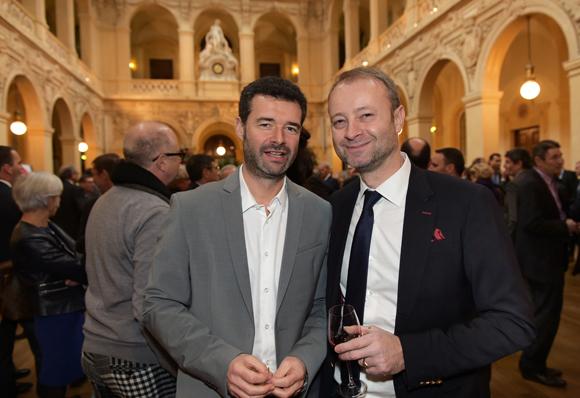 14. Franck Morize (CGPME) et Marco Polisson (Lyon People)