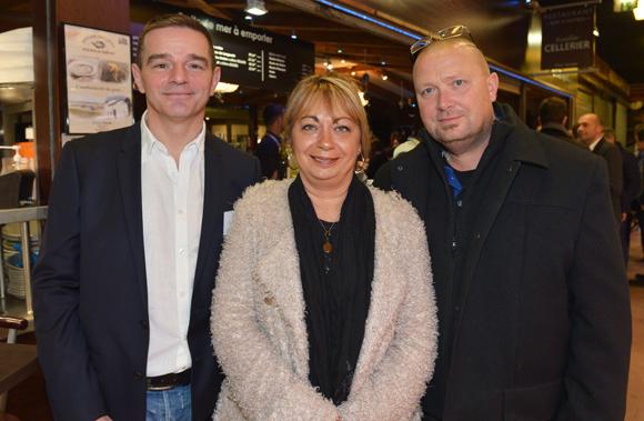 14. Bertrand Bourgeron (Agence Tous Risques), Isabelle Fougeras (LDC) et son époux Michel (RDS)