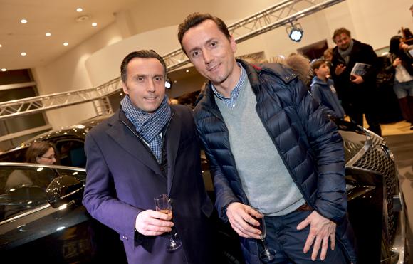 15. Stéphane Targe (Miroiterie Targe) et Vincent Targe (Régie Vincent Targe)
