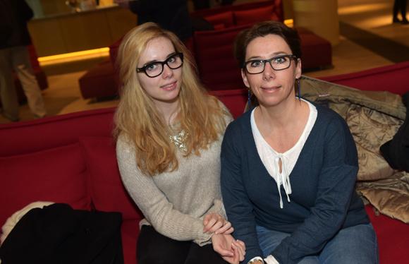 1. Marie Fady (Université Catholique de Lyon) et sa mère Fabienne (Pôle Emploi)