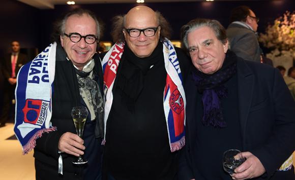 16. Serge Mathieu (Novali), Victor Bosch (Le Radiant) et Michel Masson (Lling Music)