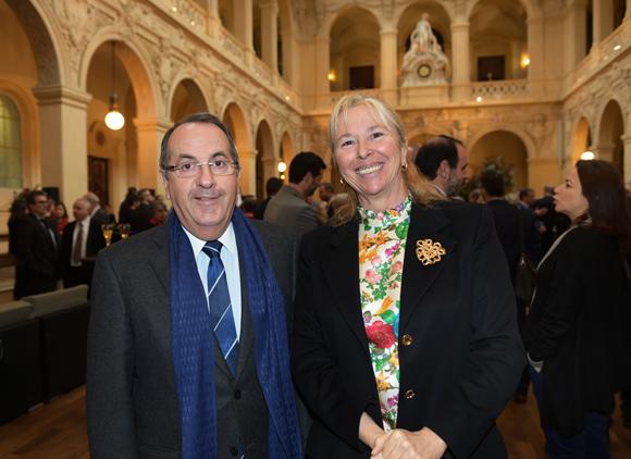 17. Michel Delpuech, Préfet de région et Elisabeth Ayrault, présidente de la CNR