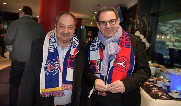 20. Guy Barral, vice-président au Sport de la Métropole et David Kimelfeld, maire de la Croix-Rousse