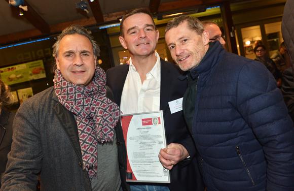 20. Philippe Liucci (Ivanhoé), Bertrand Bourgeron (Agence Tous Risques) et Philippe Bettant (Smart)