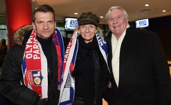 21. Illes Tamas, Delphine André (GCA) et Jean-Patrice Bernard (Groupe Bernard)