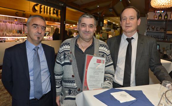 2. Philippe Durand (Bureau Véritas Certification), Eric Pehau (ATR) et Jacques Matillon (Bureau Véritas Certification)