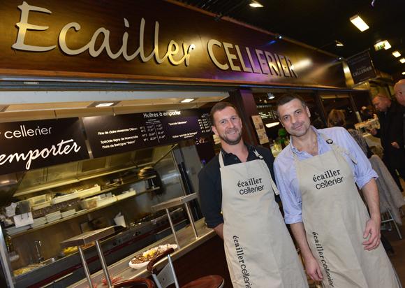 21. Gérard Heu et Rodolphe Gasser (Cellerier Ecailler)