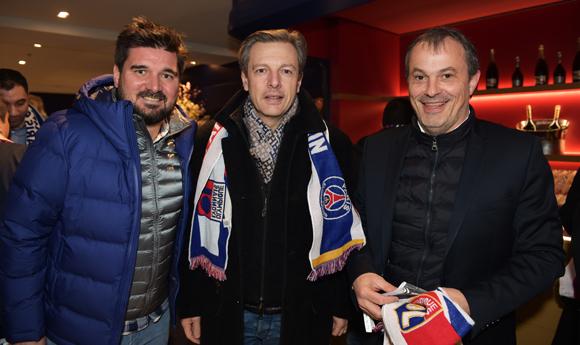 24. Sébastien Bouillet, Pascal Blache, maire du 6ème et Alain Potiron (Champagne Mumm)
