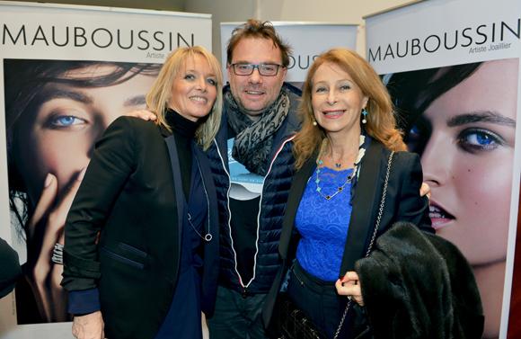 24. Corinne Merlin (Mauboussin, Pierre-Yves Gas (Agence Proxi'com) et Geneviève Watine