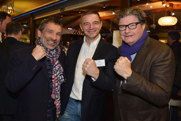 24. Stéphane Martin (Ada), Bertrand Bourgeron (Agence Tous Risques) et  Maitre Michel Uzel