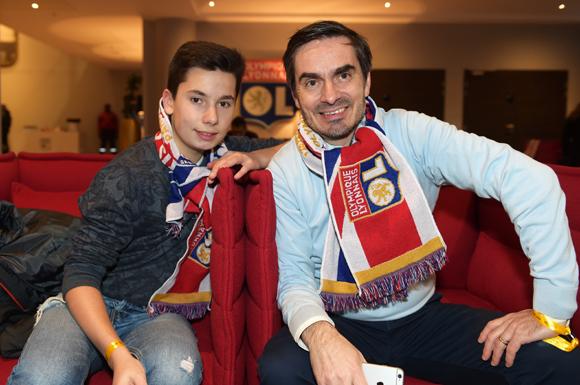 2. Renaud Fady (Maison de l'emploi) et son fils Hugo
