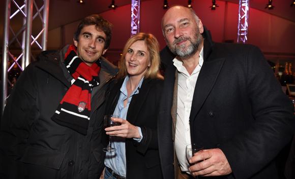 26. Yann Roubert, président du LOU Rugby, Alexandre Puget-Rostand (Greaty) et Gilles Teisseyre (Arcturus Group)