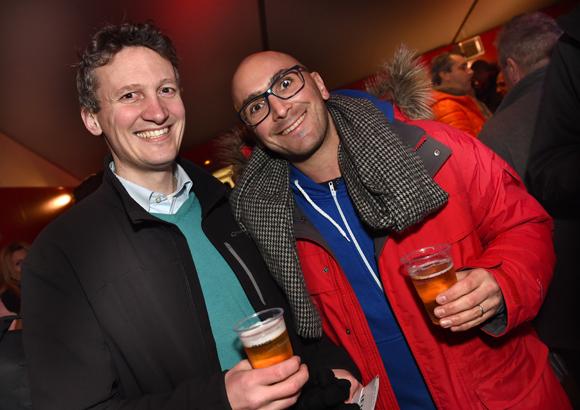 27. Bruno Perche (Areva) et Philippe Braz (GL Events)