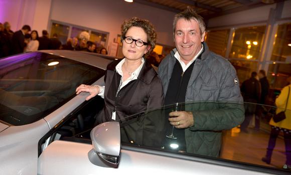 28. Nathalie Pellissier Roidor (Métamorphoses Architectures & Environnements) et son époux Philippe (Bureau de Contrôle Dekra)