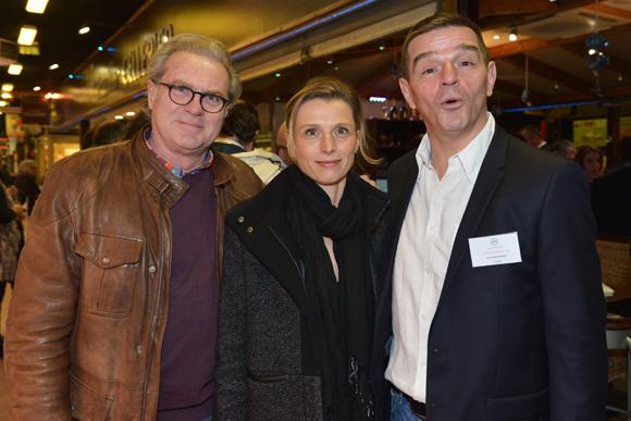 28. Bruno Perignon, Nathalie Colliot (All Inclusive Communication) et Bertrand Bourgeron (Agence Tous Risques)
