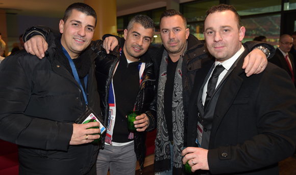 29. Lionel, Bruno, Eddy et Manu
