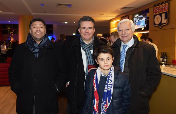 30. Richard Lamamra (Accorimm), Jean-Claude Flory, maire de Vals les Bains, son fils Paul et Marc Fraysse (Cofely GDF Suez)