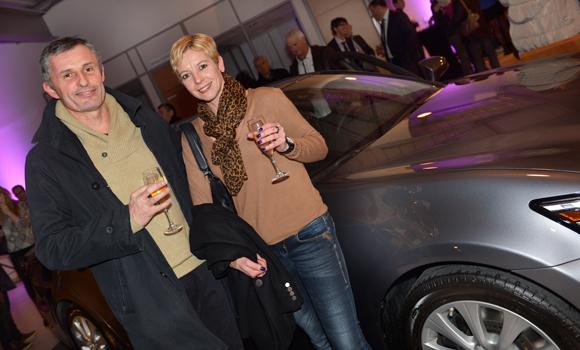 30. Bruno Vincent (Comptoir 77) et Sandrine Charron (Garage Genas Mercedes)