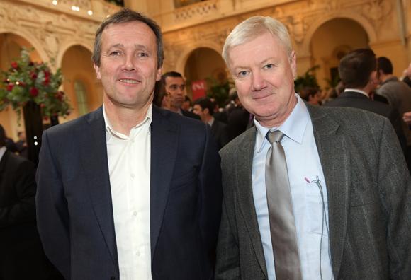 30. Christophe David (Isara Lyon) et Guy Collilieux (CNR)