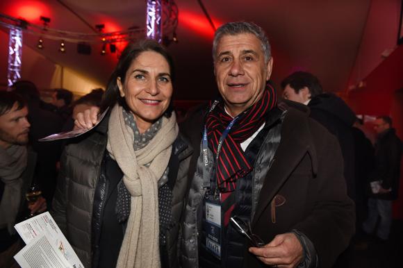 30. Pierre Maillot (Novospace/LOU Rugby) et son épouse Béatrice (Beam-WSI)