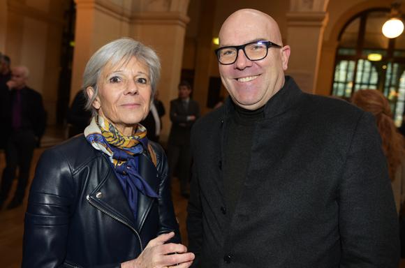 3. Marie-Annick Depagneux (Acteurs de l'économie) et Bruno Bonnell (Robopolis)