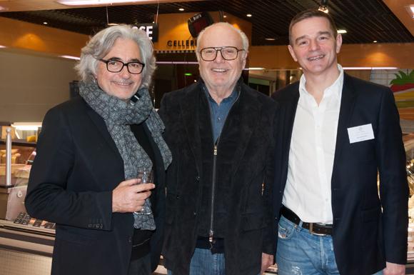 31. Marc Lefebvre, ancien président de l'ASVEL, Alain Cellerier (Cellerier) et Bertrand Bourgeron (Agence Tous Risques)