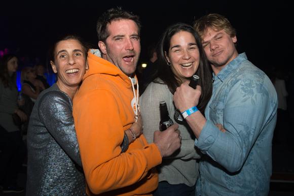 33 Olivia (Delis corner), Arnaud Beauquis (moniteur de ski), Gabrielle Beauquis et Jérémy Bouvier