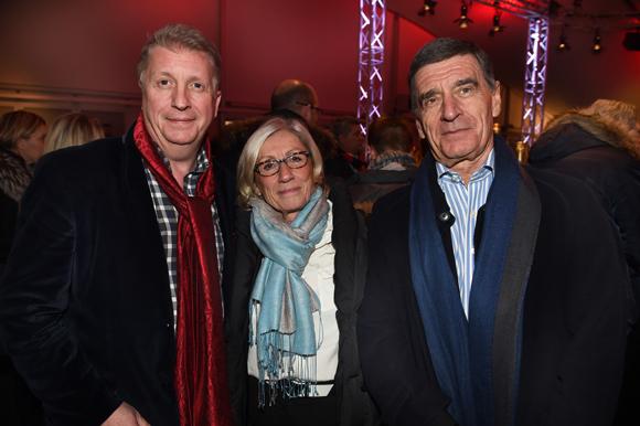 33. Michel Lopez (Korloff), José et son époux Jacques Laprée (LOU Rugby)