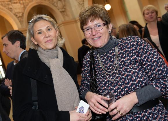 33. Armelle Guerinot (AUNL) et Catherine Saignes (Bref Rhône-Alpes)