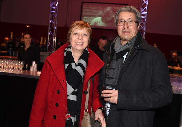 3. Cherif Hadji (IESA) et son épouse Isabelle