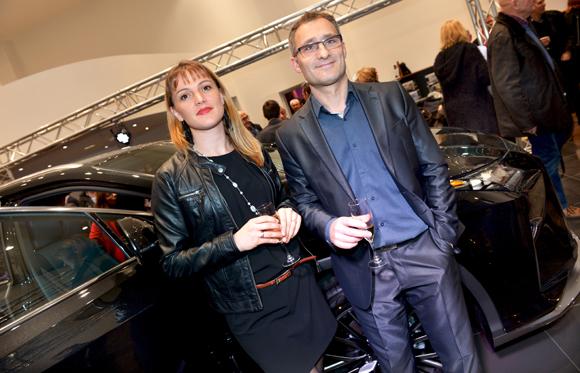 34. Marjorie et son époux Victor Figueiredo (Lexus France)