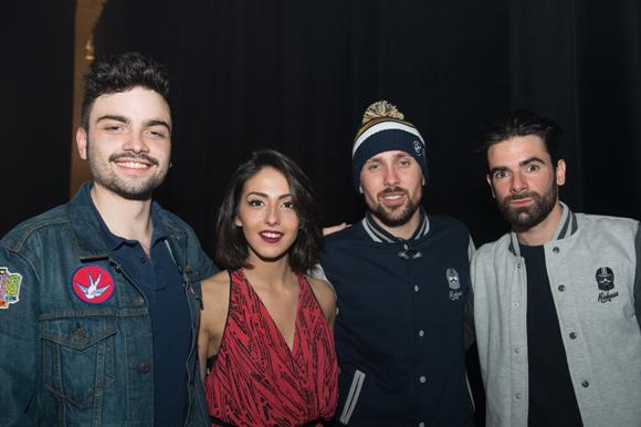 35. Just Marcel, Anna Kova, Alexandre et Paul (Synapson)