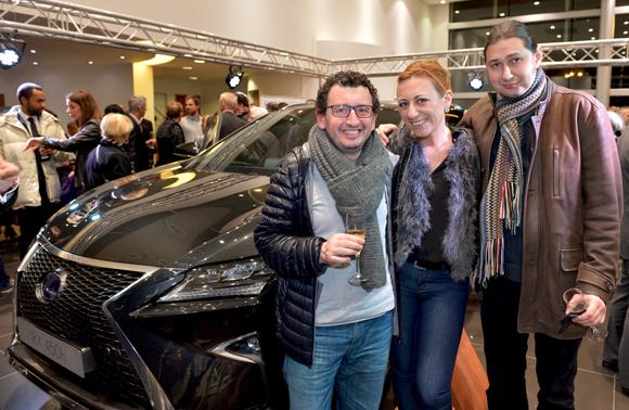 35. Bruno Boyadjian, Anne Michelin (Maison Rousseau) et le Violoniste Rouslan Rubstov