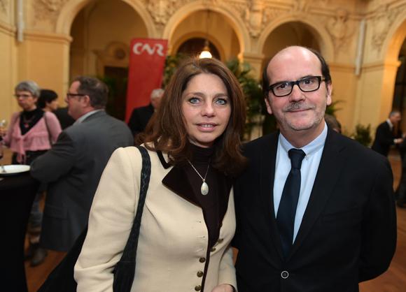 35. Nathalie Serre (Bref Rhône-Alpes Auvergne) et Gérard Auboeuf (Only Lyon)