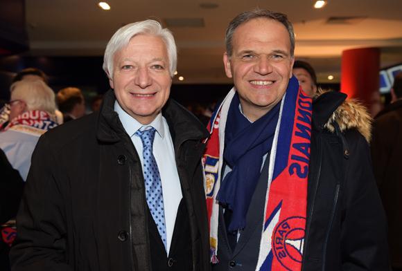 35. Marc Fraysse (Cofely GDF Suez) et François-Noël Buffet, sénateur-maire d'Oullins