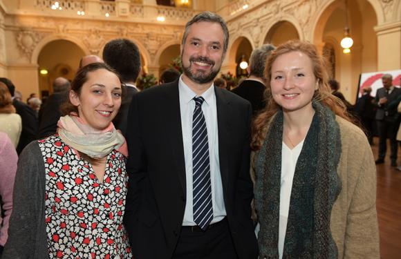 36. Valentine Lassalas (CNR), Bertrand Leboucher (Suez Consulting) et Marine Thomas (IAGF)