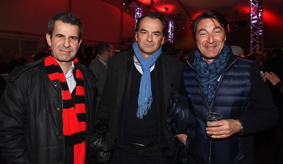 36. Olivier Brunet (BTP Rhône), Norbert Fontanel (Fontanel) et Philippe Boni (Serely)